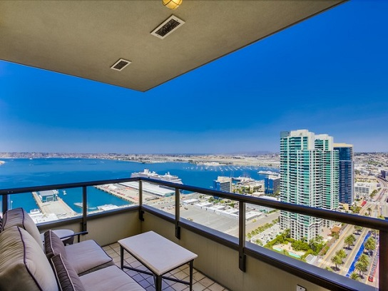 Featured Property Luxury Electra Condo For Rent In Downtown San Diego