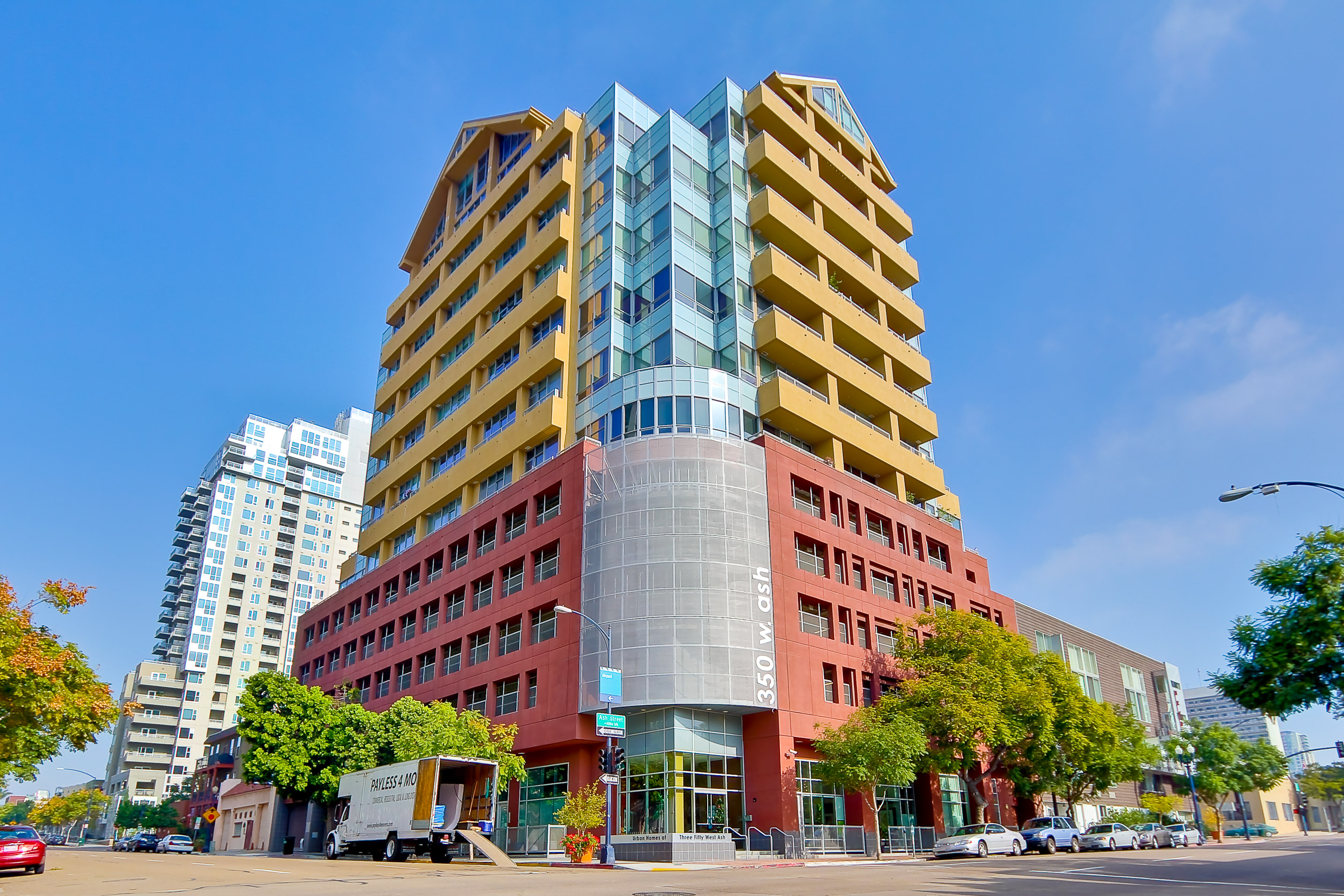 350 W Ash Lofts Located In Downtown San Diegos Little Italy