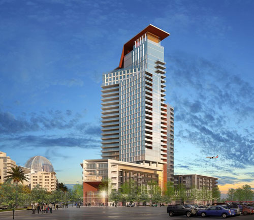 New High-Rise Tower To Downtown San Diego's East Village